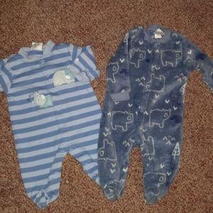 Two pajamas